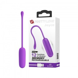Oeuf Vibrant Rechargeable Pretty Love Joyce Violet