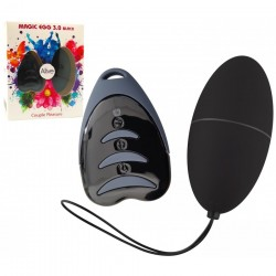 Oeuf Télécommandé Magic Egg 3.0 Noir