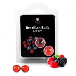 Boules Brésiliennes Saveur Fruits des Bois X2