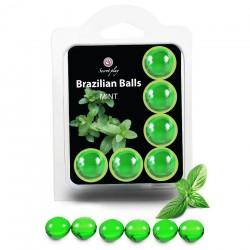 Boules Brésiliennes Saveur Menthe X6