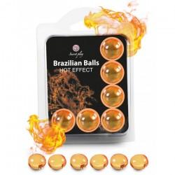 Boules Brésiliennes Effet Chauffant X6