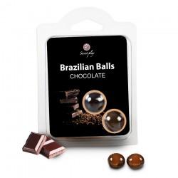 Boules Bresiliennes Saveur Chocolat X2