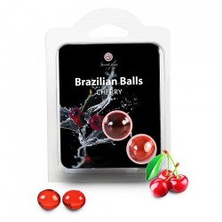 Boules Bresiliennes Saveur Cerise X2