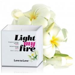 Bougie de massage Light My Fire Monoi - 80 ml