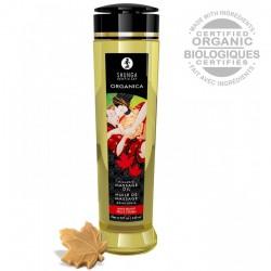 Huile de Massage Biologique Saveur Delices d'Erable - 240 ml