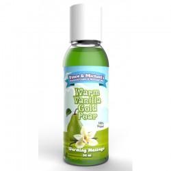 Huile Chauffante VM Saveur Poire Vanille - 50 ml