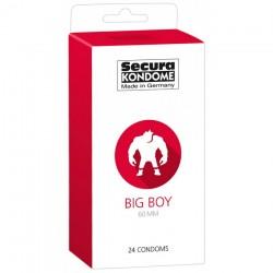 24 Préservatifs Grand Format - Big Boy