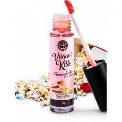 Gloss vibrant Kiss Saveur Pop-Corn - 6 gr