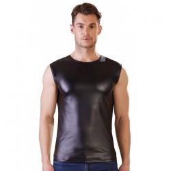 Debardeur Noir Mat - XL