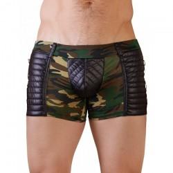 Short Camouflage Matelassé - L