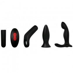 Coffret 3 Sextoys Rechargeables pour Homme Dusty Pleasure