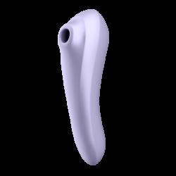 Stimulateur vibromasseur connecté Satisfyer Dual Pleasure - Mauve
